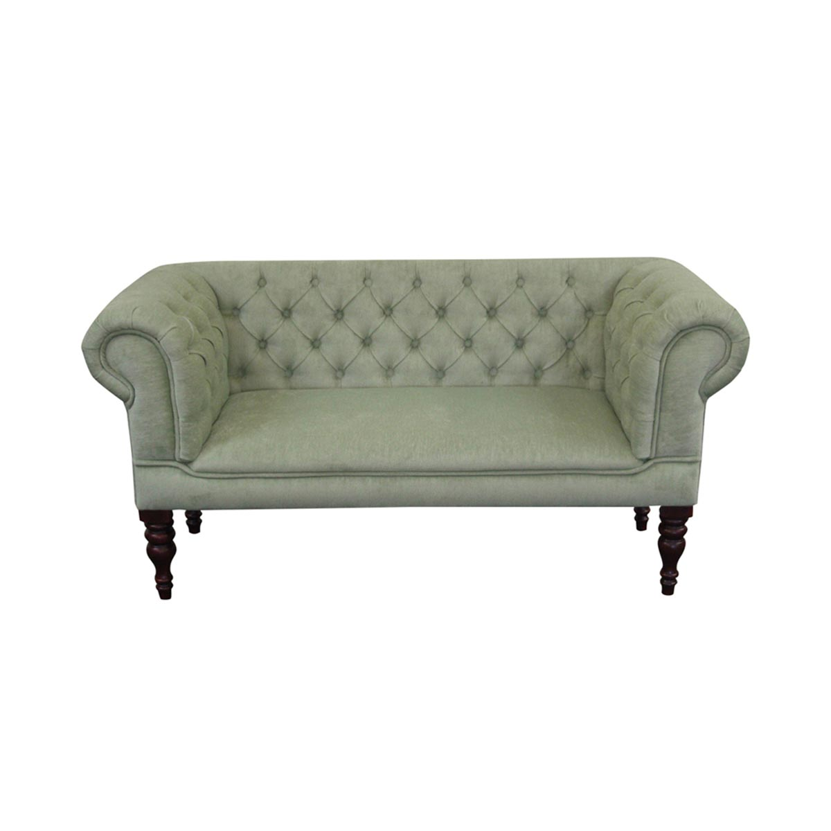 Sage slipper sofa Slipper loveseat