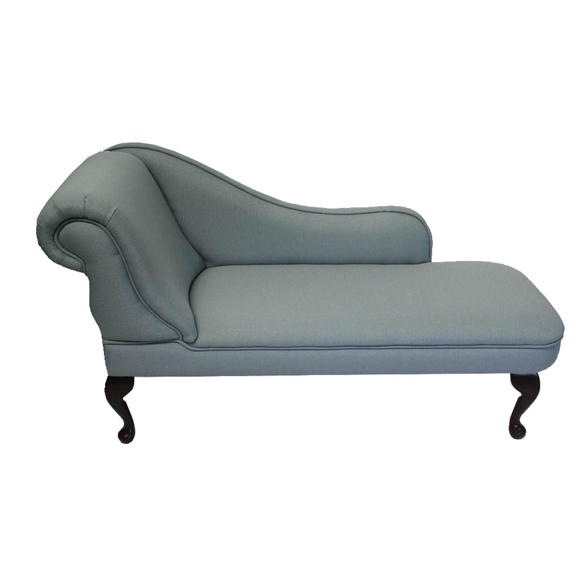 Twain long simply chaise for Blue chaise longue