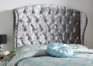 winged headboard