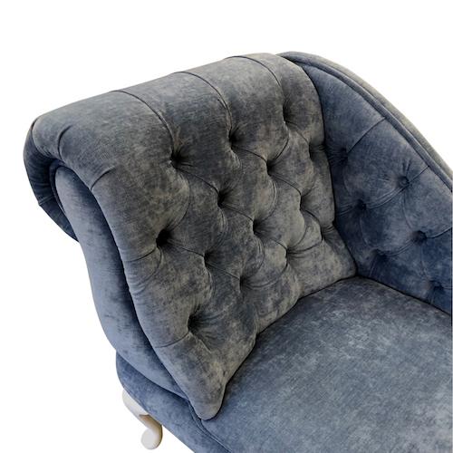 blue lustre detail. chaise longue jpg