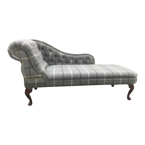 tartan chaise longue