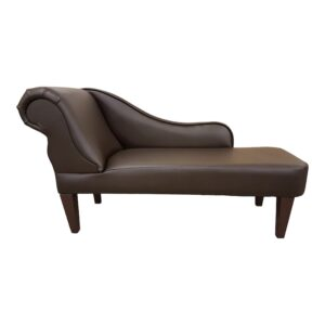 6370 brown faux leather. chaise longue jpg
