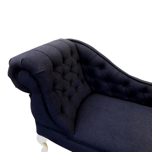sapphire faux wool detail. chaise longue jpg