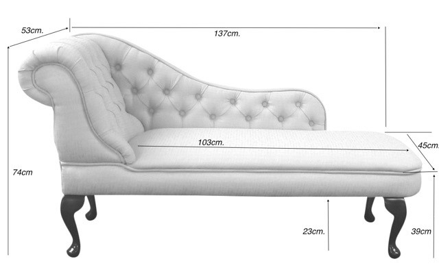 Chaise Dimensions