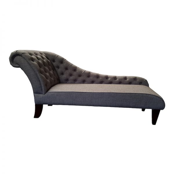 Bensons Buttoned chaise 1