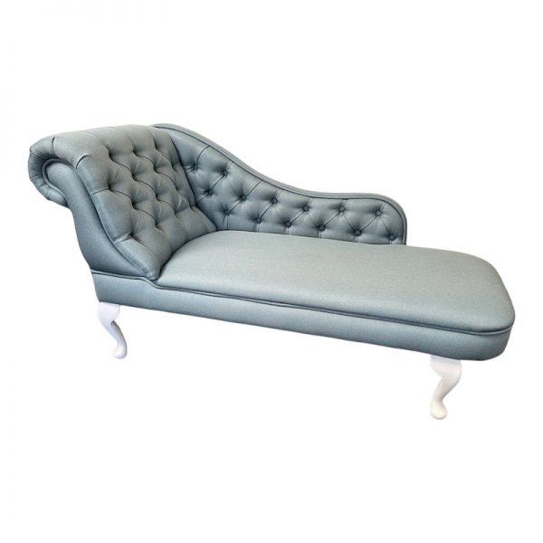 buttoned chaise longue 602 man blue