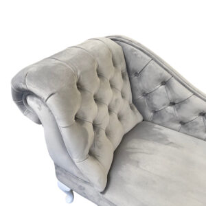 buttoned chaise longue quartt 802 grey